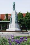 在圣徒皇家山,蒙特利尔,魁北克,加拿大Joseph's讲说术的圣若瑟纪念碑  库存图片