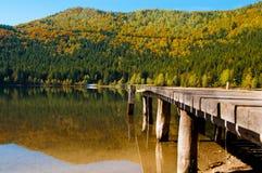 在圣徒阿那湖的秋天 免版税库存图片