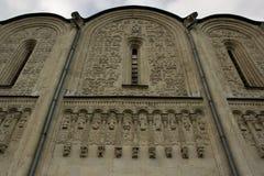 在圣德米特里大教堂的灰泥 库存照片