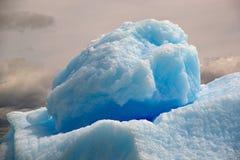 在圣拉斐尔盐水湖的冰山,巴塔哥尼亚,智利 库存照片