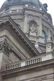 在圣斯蒂芬` s大教堂的细节在布达佩斯,匈牙利 免版税库存照片