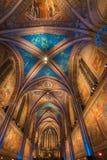 在圣法兰西斯美丽的大教堂的传统圣诞节音乐会  免版税库存图片