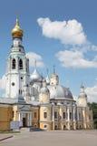 在圣洁复活大教堂附近的美术画廊 免版税库存图片