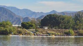 在圣菲水坝度假区的端午节 免版税库存图片