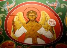 在圣蓬蒿Cathederal莫斯科里面 免版税图库摄影