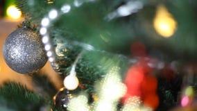 在圣诞节的圣诞老人 影视素材