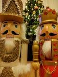 在圣诞节的胡桃钳 图库摄影