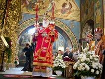 在圣迈克尔的大教堂的仪式 免版税库存照片
