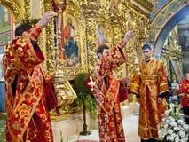 在圣迈克尔的大教堂的仪式 库存图片