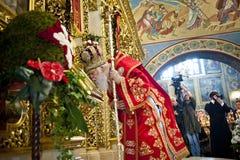 在圣迈克尔的大教堂的仪式 图库摄影