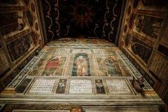 在圣里面Cecelia大教堂在阿尔比 库存图片