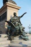 在圣马克& x27的胜利雕象; s正方形,威尼斯,意大利 库存照片
