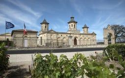 在圣Estephe法国的法国大别墅 免版税库存照片