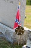 在圣Ignatius教会马里兰的坟墓 免版税库存照片