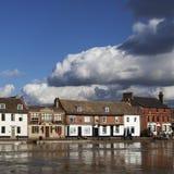 洪水在圣Ives 免版税库存图片