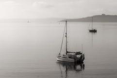 在圣Mawes的小船 免版税库存图片