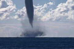 在地中海的龙卷风 图库摄影