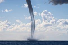 在地中海的龙卷风 库存图片