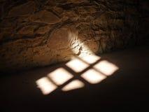 在地板上的阴影 图库摄影