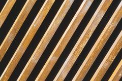 在地板和背景的棕色抽象木头 免版税库存图片