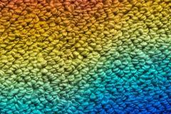 在地毯的彩虹 免版税图库摄影