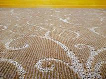在地毯的摘要 库存照片