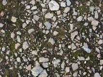 在地面上的石头 免版税图库摄影