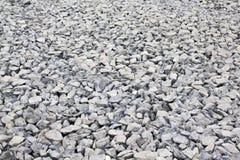 在地面纹理的石头 库存照片