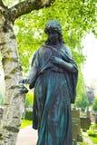 在坟墓的天使 免版税库存图片