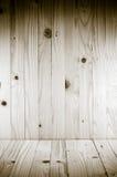 在垂直和水平的木背景,松木背景 免版税库存照片
