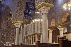 在埃及之土著基督教派里面 免版税库存照片