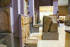 在埃及博物馆里面 库存照片