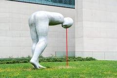 在埃及艺术的状态汇集的现代雕塑 库存照片