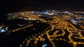 在埃尔金的夜飞行 库存照片
