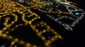 在埃尔金的夜飞行 免版税库存照片