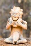 在埃斯梅拉达找到的Tolita遗物厄瓜多尔 库存图片