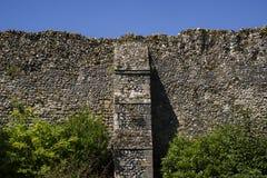 在埋葬St埃德蒙兹的修道院废墟 库存照片