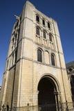 在埋葬St埃德蒙兹的诺曼底塔 库存图片