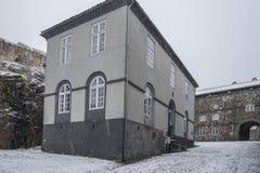 在城堡内 免版税库存图片