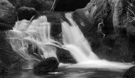 在城堡坎伯的瀑布 图库摄影