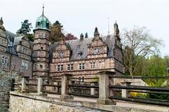 在城堡埃梅尔塔尔的侧视图 库存图片