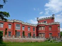 在Nechanice附近的捷克城堡 图库摄影