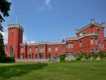 在Nechanice附近的捷克城堡 免版税图库摄影