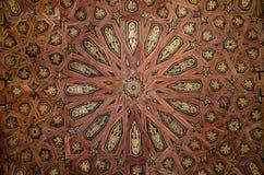 在城堡的样式在塞维利亚 库存照片