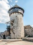 在城堡里面在Velika Kladusa 库存照片
