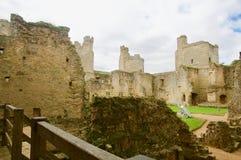 在城堡里面 库存图片