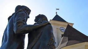 在城堡Palanok 免版税图库摄影