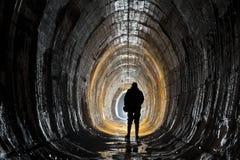 在城市下的地下系统 免版税库存照片