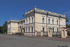 在城市沃洛格达州,俄罗斯系带博物馆 免版税库存照片