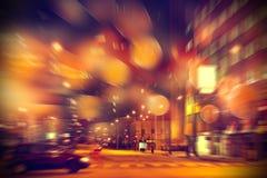 在城市的都市生活 库存图片